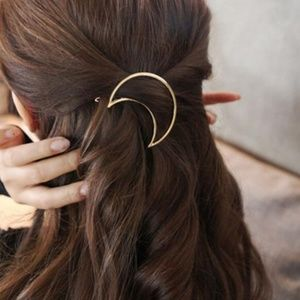5 for $25 Moon Shaped Hair Pin